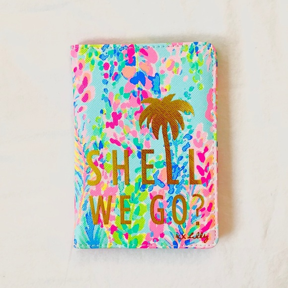 Lilly Pulitzer Accessories Nwt Catch The Wave Passport Cover Poshmark